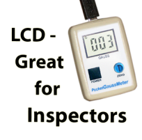 Pocket Gaussmeter - LCD